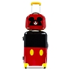 Disney Rolling Luggage - Stacked 2 Piece Luggage Set Mickey Mouse 26