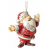 Frosty the Snowman Traditions by Jim Shore Ornament - Santa