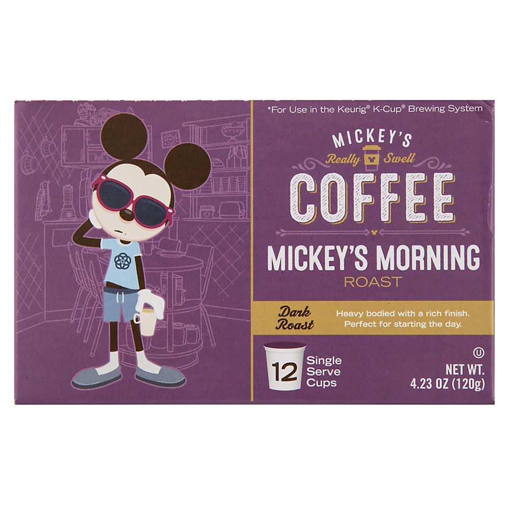 mickey coffee box of k-cups
