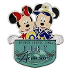Disney Pin - Disney Cruise Line Captain Mickey & Minnie Port Adventure