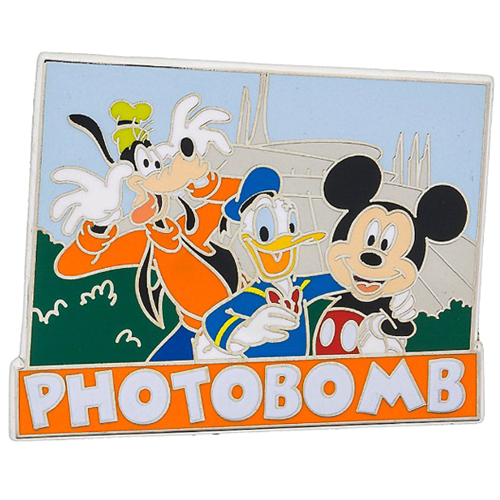 Disney Pin - Mickey & Friends Photobomb