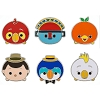 Disney Pin Set - Adventureland ''Tsum Tsum''