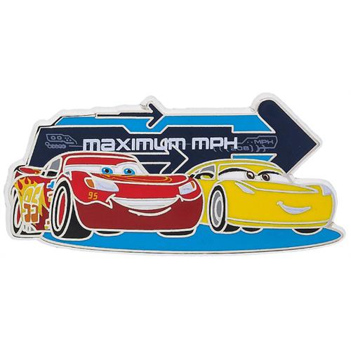 Disney Pin Disney Pixar Cars 3 Lightning Mcqueen Cruz