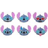 Disney Pin Set - Emoji Stitch