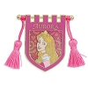 Disney Princess Pin - Aurora Crest Banner with Tassels
