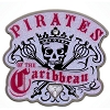 Disney Pirates Pin - Pirates of the Caribbean Skull Crown