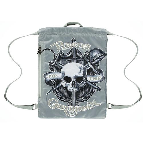 Disney Drawstring Bag Pirates Of The Caribbean Logo