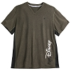 Disney runDisney Performance Tee - Side Stripe Tee - Black