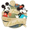 Disney Love Is An Adventure Pin - Love Is An Adventure Logo