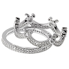 Disney Rebecca Hook Ring - Mickey Mouse Crown - Silver