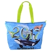 SeaWorld Tote Bag - 2017 Orca Turtle Sea Lion Dolphin Shark Penguin