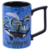 SeaWorld Coffee Mug - 2017 Orca Turtle Sea Lion Dolphin Shark Penguin