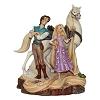 Disney Traditions by Jim Shore - Tangled Carved by Heart