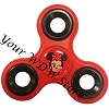 Disney Hand Spinner Toy - Fidget Spinnerz - Minnie Mouse Red & Black