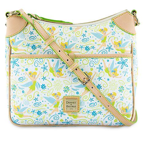 Disney Dooney U0026 Bourke - Tinker Bell Floral Crossbody Bag