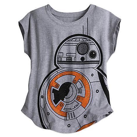 Disney tank tee for women shirt bb 8 star wars bling tee for Bb shop