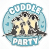 Disney Finding Dory Pin -  Otters Cuddle Party