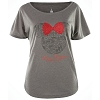 Disney Ladies Shirt - Epcot Italy Minnie Icon Pasta Tee