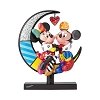 Disney Britto Figurine - Mickey and Minnie on Moon