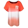 Disney Adult Shirt - Walt Disney World Spirit Jersey - Ombre Coral