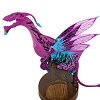 Disney AVATAR Banshee - Pink/Purple Body with Blue Accents