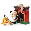 Disney Dept. 56 Figure - A Bone for Pluto Christmas