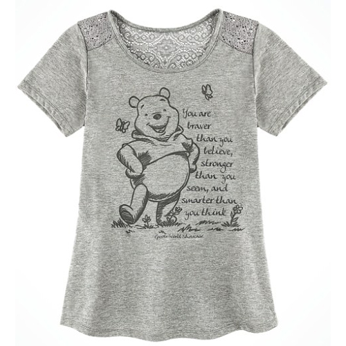 28267851cbab Disney Ladies Shirt - Epcot UK Winnie the Pooh Tee