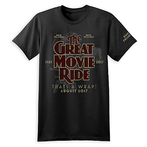 Disney Adult Shirt - Great Movie Ride - That's A Wrap - Passholder