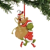 Universal Ornament - Grinch - Grinch Santy Clause Stowaways