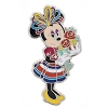 Disney Minnie Pin - Minnie Mouse with Flowers