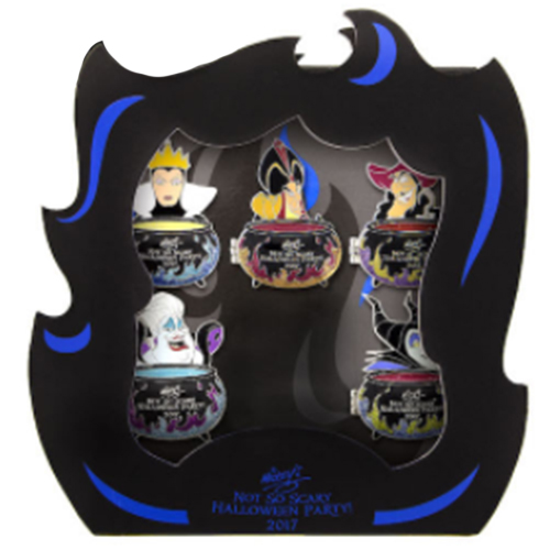 Disney Boxed Pin Set - Mickey's Not So Scary Halloween Party 2017