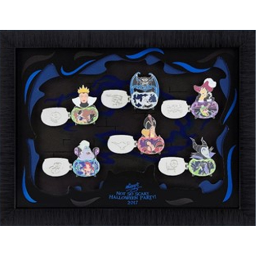 Add to My Lists. Disney Framed Pin Set - 2017 Mickey's Halloween ...
