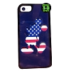 Disney Customized Phone Case - USA Flag Mickey Mouse Silhouette