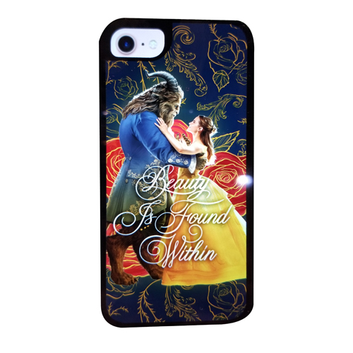 pretty nice 3607d cb7e4 Disney Customized Phone Case - Beauty and the Beast - Belle and Beast