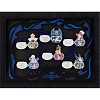 Disney Framed Pin Set - 2017 Mickey's Halloween Party - 6 Pin Set