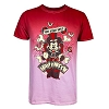 Disney ADULT Shirt - 2017 Mickey Ombre Halloween Tee - Red