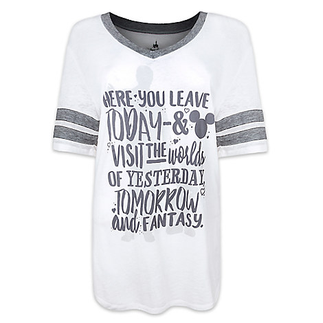762fe73c Add to My Lists. Disney Ladies Shirt - Walt Disney and Mickey Mouse Quote  Tee for Women