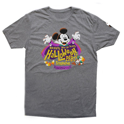 Disney ADULT Shirt - 2017 Mickey's Not So Scary Halloween Party - Passholder