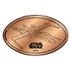 Disney Pressed Penny - Star Wars - X-wing Starfighter