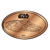 Disney Pressed Penny - Star Wars - Millennium Falcon