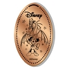 Disney Pressed Penny - Fanstamic - Sorcerer Mickey Maleficent