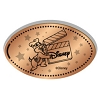 Disney Pressed Penny - Chip with Clapboard