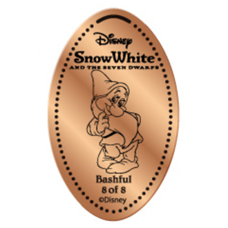 Disney Pressed Penny - Snow White Set - Bashful