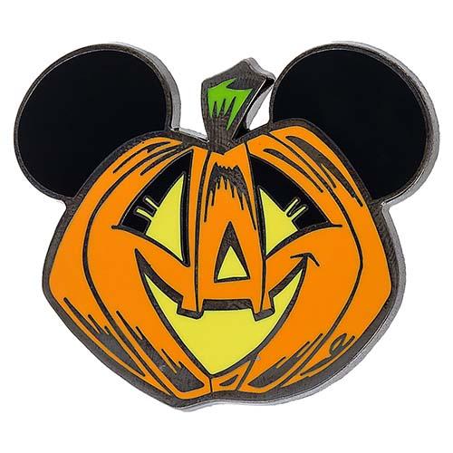 Disney Halloween Pin Mickey Mouse Pumpkin Jack O'Lantern