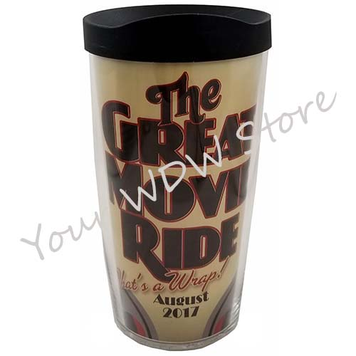 Disney Tervis Tumbler - The Great Movie Ride That's a Wrap August 2017