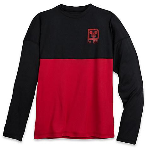 3e22264df3a Disney Adult Shirt - Walt Disney World Spirit Jersey - Black and Red