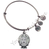 Disney Alex and Ani Bracelet - Haunted Mansion Madame Leota - Silver