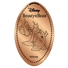 Disney Pressed Penny - Beauty Beast Set - Lumiere & Cogsworth