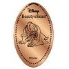 Disney Pressed Penny - Beauty Beast Set - Beast on Ground