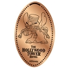 Disney Pressed Penny - Tower Hotel - Bellhop Stitch